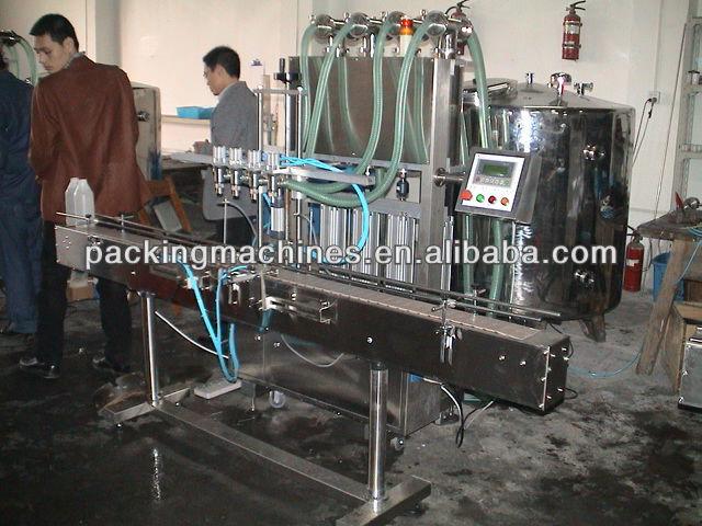 bns-4t-4g أربعة رؤساء السائل ملء آلة أوتوماتيكية