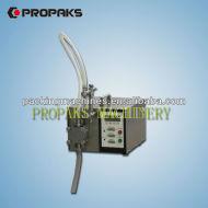 التحكم الرقمي gzd100 الصغيرة ضخ السائل ملء آلة