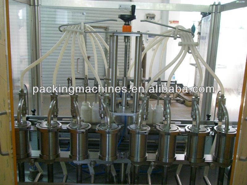 Bns8 líquido de llenado automático de la máquina- el motor servo