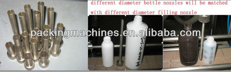 Bnsg6t-6g seis cabezas de crema de relleno automático de la máquina