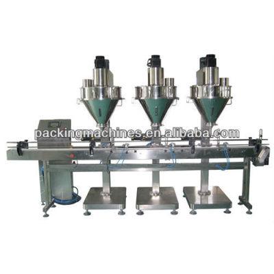 Bns-2b-103 automática de tres jefes de alimentación del taladro de llenado de la máquina