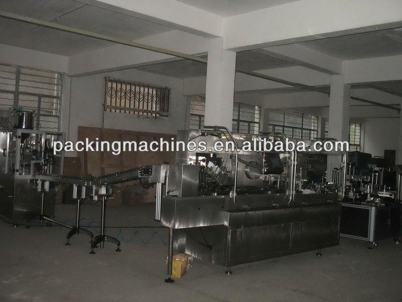 Tubo de llenado&& encuadernación máquina de etiquetado
