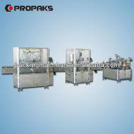 أجهزة السيارات السائل التعبئة والسد والتوسيم prduction خط