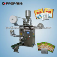 Dxdk- 100 nwd tea-bag automática máquina de embalaje con hilo de etiquetas y sobres