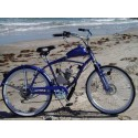 Gas motor bike, power bike, beach cruiser