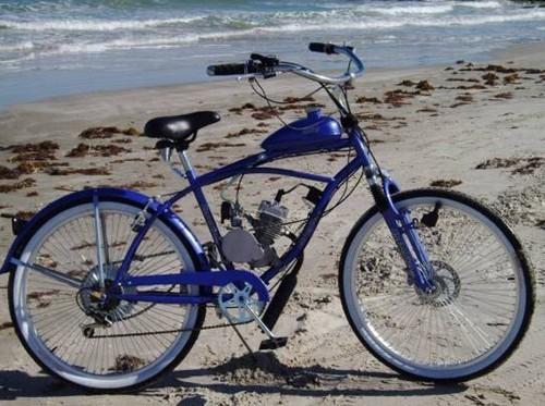 الغاز محرك الدراجة، دراجة كهربائية، طراد الشاطئ