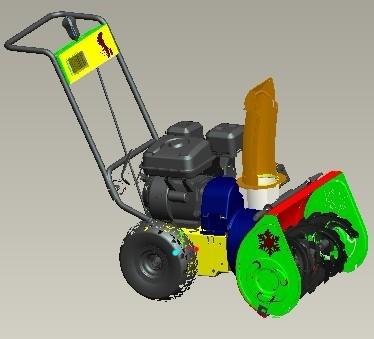 العلامة التجارية الجديدة البسيطة الغاز المنفاخ سنو! 5.5HP، 6.5HP اليدوية والكهربائية منفاخ الثلوج بداية!