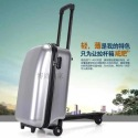 iScootcase, new design scooter suitcase, scooter luggage, wheeled trolley case, hard travelling case