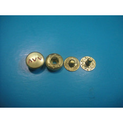 Golden Press Snap Button Golden Press Fastener