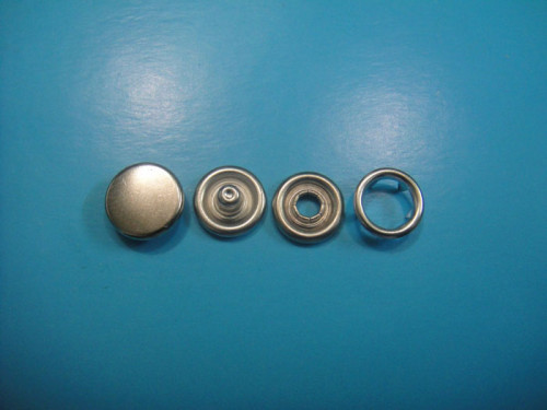 Cap Ring Snap Button Cap Prong Type Snap Button