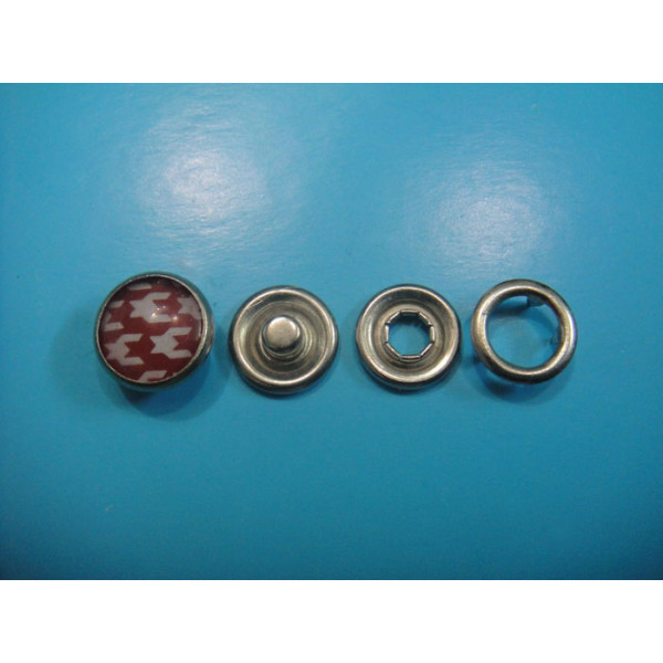 Fashion Pearl Prong Snap Button