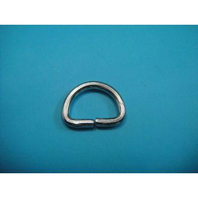 Brass Double D Ring Belt Buckle