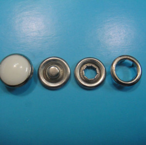 11MM Fashion White Pearl Snap Button Peal Prong Snap Button