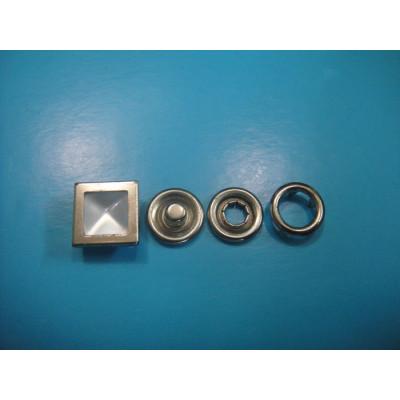 Designer Snap Fastener Square Pearl Snap Button