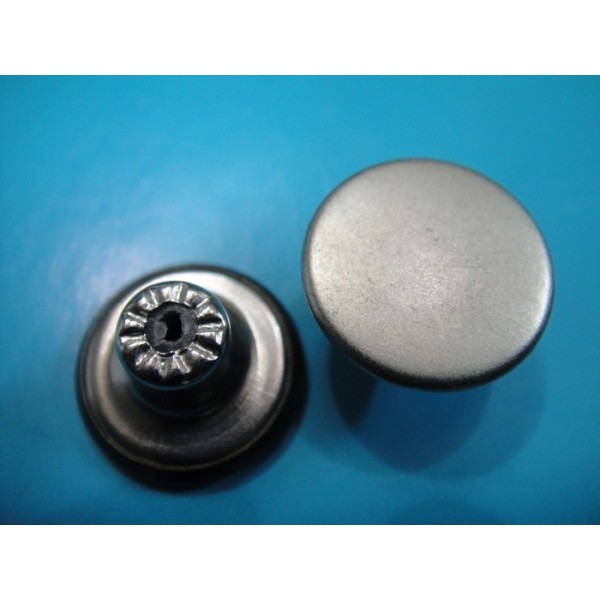 Antique Silver Fashion Jeans Button Jeans Metal Button