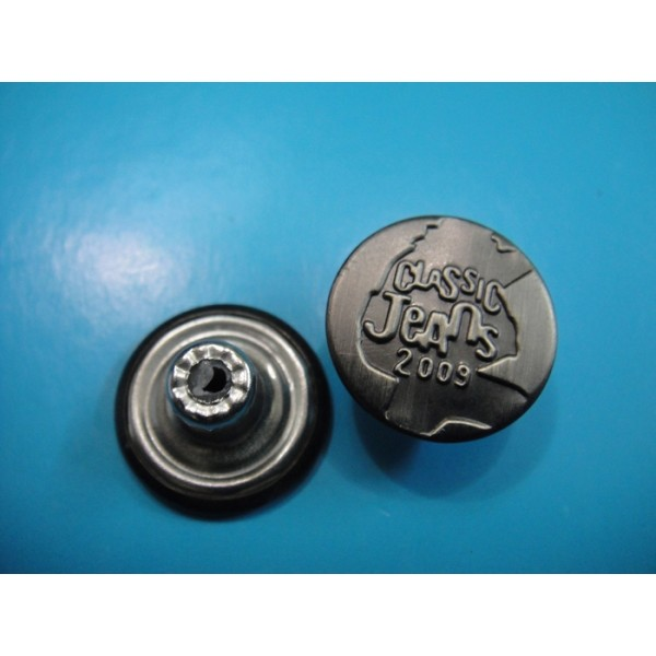 Brass Jeans Button Metal Pants Button