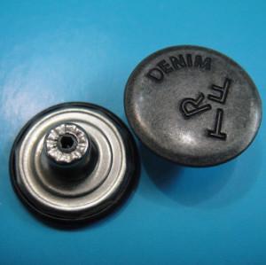 Brass Denim Jeans Tack Button