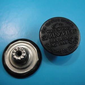 Paint Jeans Button Tack Button Shank Button Metal Button