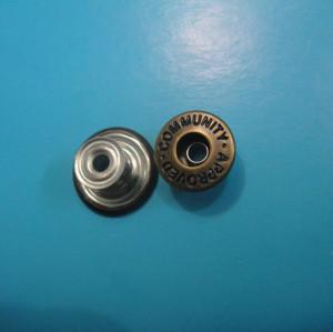 Jeans Brass Shank Buttons