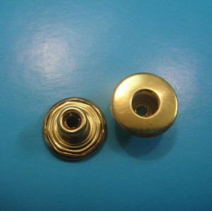 Golden Color Jeans Button Hollow Type Shank Button