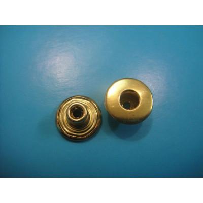 Golden Color Jeans Button Hollow Type Shank Button