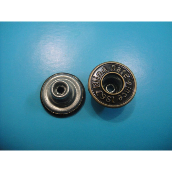 Garments Jeans Button Hollow Type Shank Button for Jeans