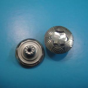 Metal Copper Adjustable Jeans Buttons