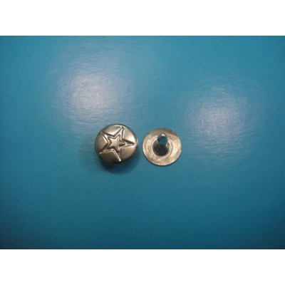Brass Round Head Jeans Rivet