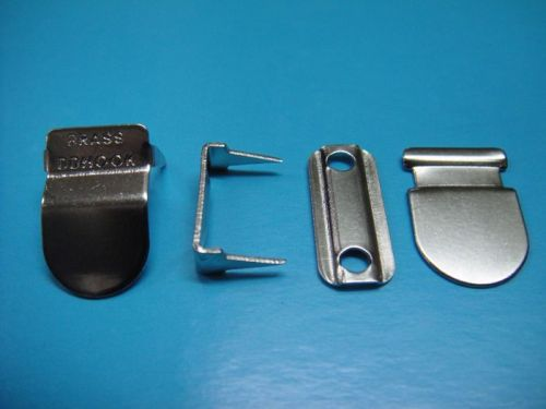 Metal Brass trousers Hook and Bar AVV-H007