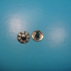 Brass Round Head Nipple Down Rivet