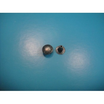 Nut Plate Silver Denim Rivets AVV-R0016