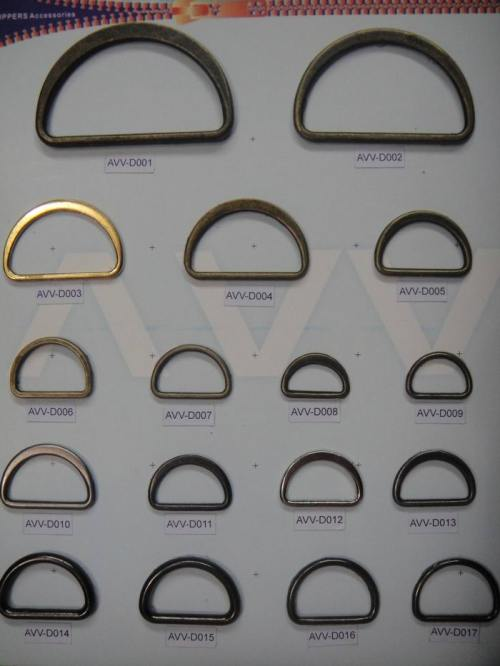 Metal D-Ring and Buckles