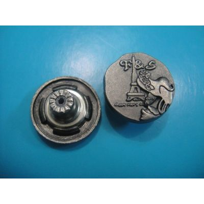 special engraved shank button