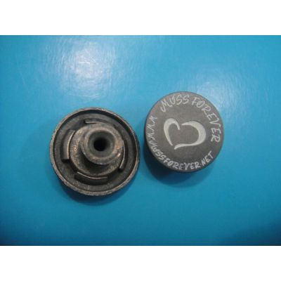 engraved shank button