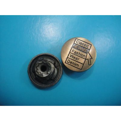 flat shank button for jeans