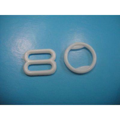 White Plastic Bra Clips