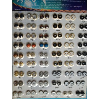 Alloy Sewing Button