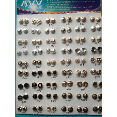 Alloy Sewing Buttons