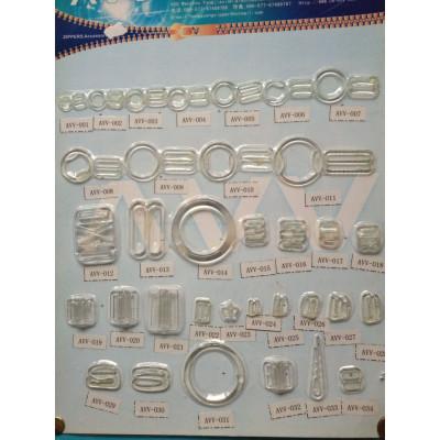 Clear Plastic Bra Clips