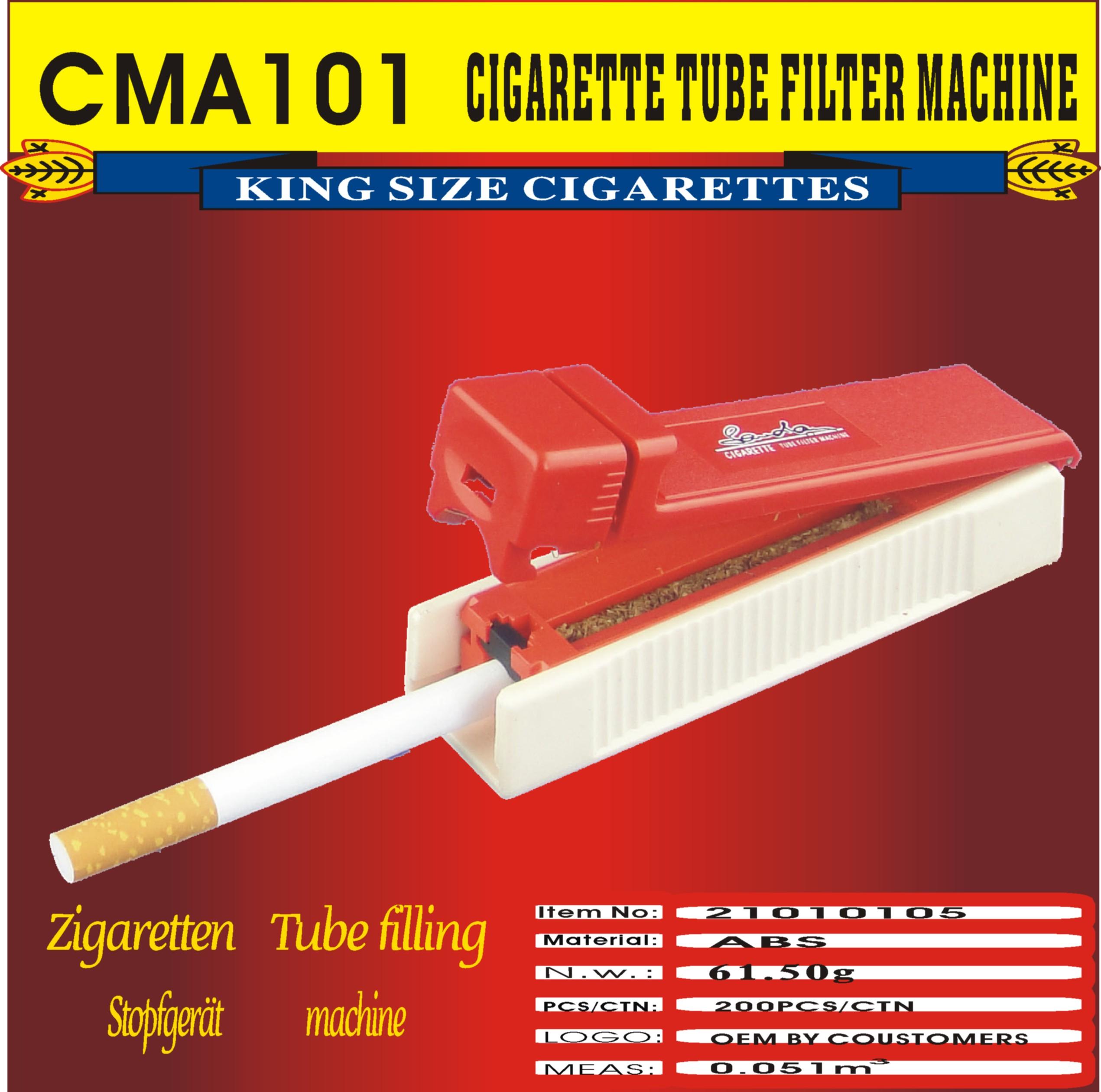 plastic Cigarette Tube filter rolling Machine