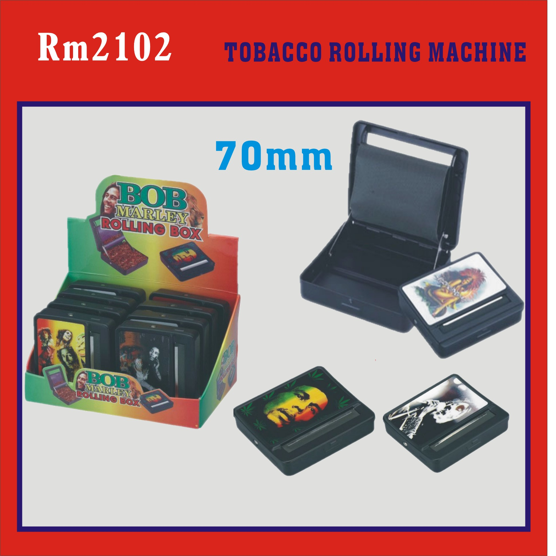 case style tobacco rolling machine (Rolling machine with box,tobacco rolling machine)