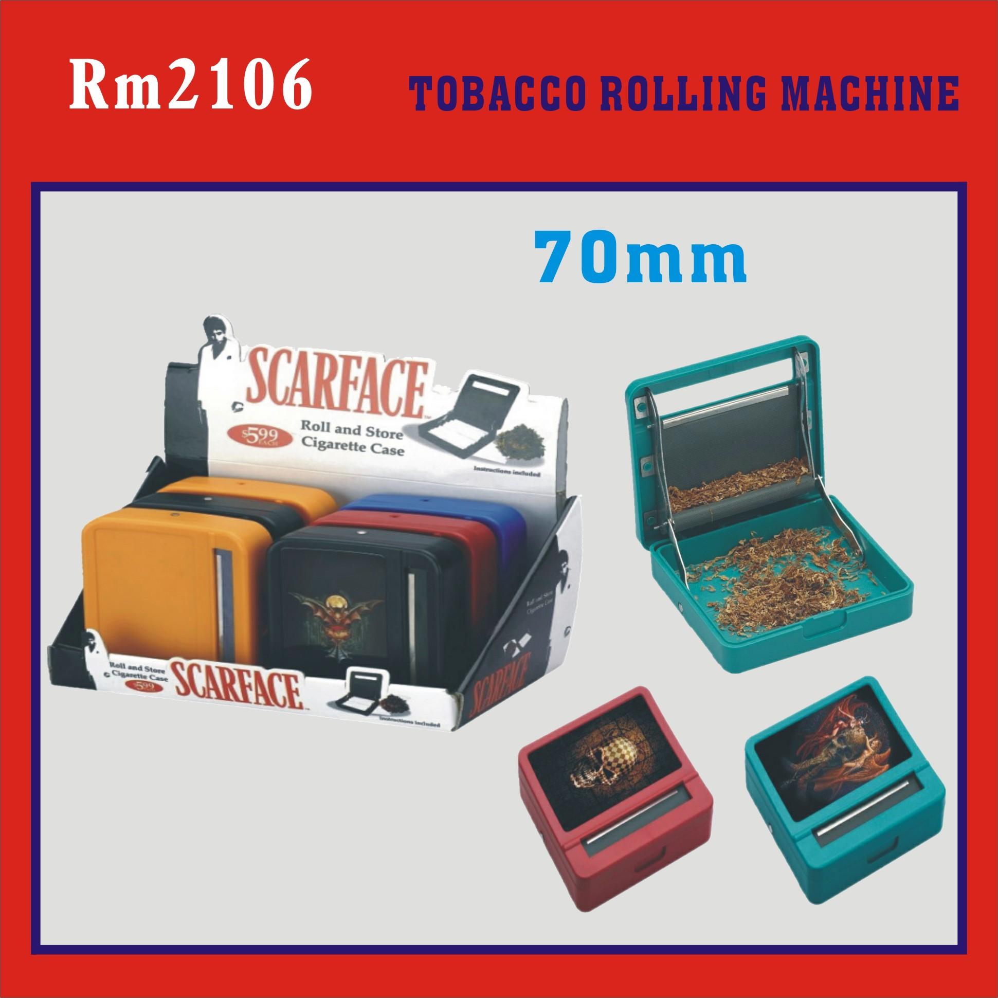 popular case style tobacco rolling machine (Rolling machine with box,tobacco rolling machine)