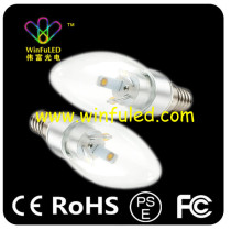 3W Led Candle Light Bulbs