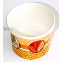 printed ice cream containers