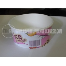 ice cream paper bowl