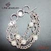 361LStainless Steel Pearl Bracelet FB0037