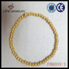 2013 gold plated pearl bracelet FB0035-1