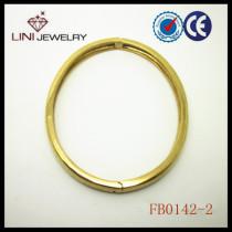 2013 gold plated oval bracelet FB0142