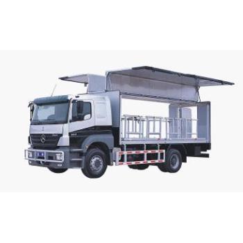 Benz Axor cash truck(8 tons)