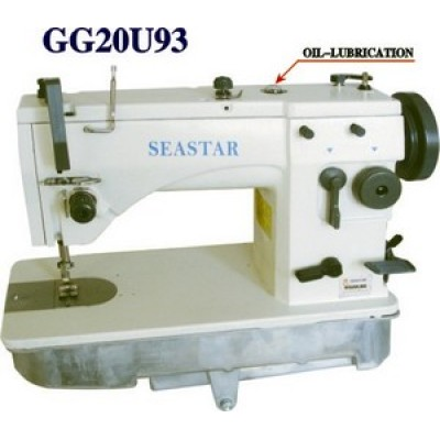 AUTOMATICALLY OIL-LUBRICATION ZIGZAG SEWING MACHINE